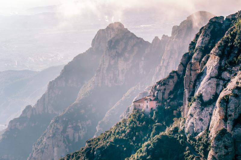 2-in-1: Montserrat and Sagrada Família