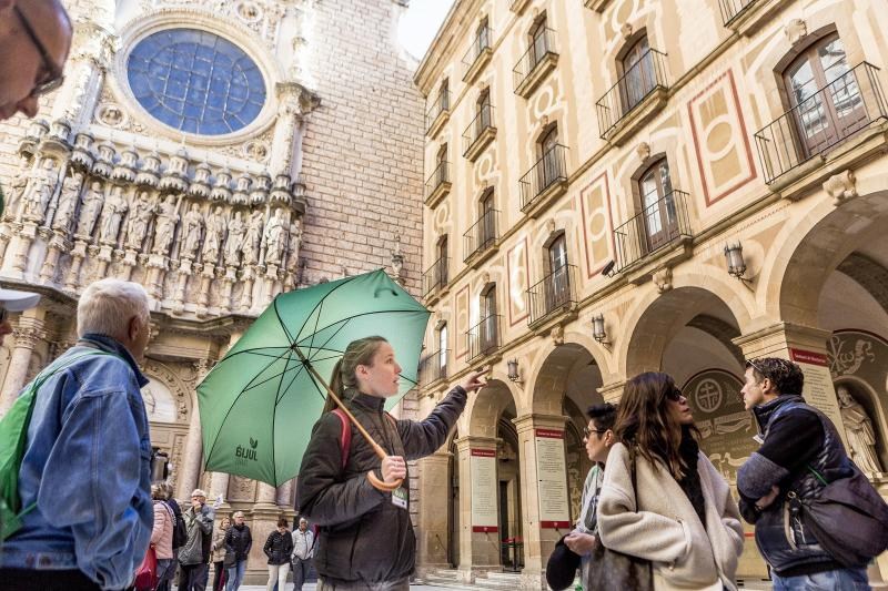 Montserrat-retki Barcelonasta
