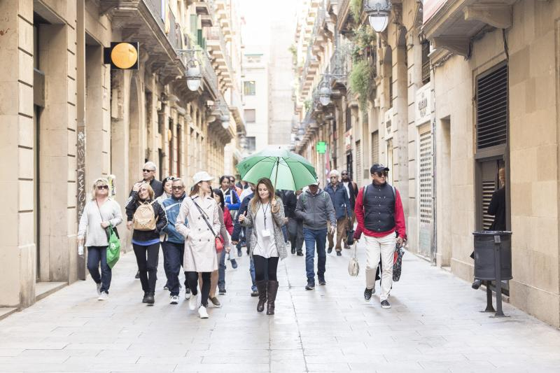 Sites principaux de Barcelone :  Visite guidée
