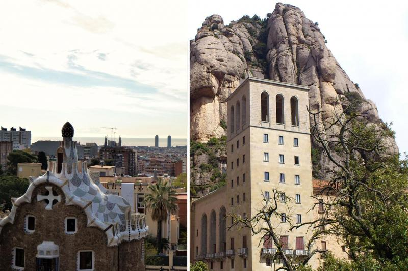 Monserrat & Barcelona: Guided tour