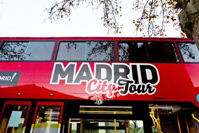 Visita Hop-On Hop-Off a Madrid