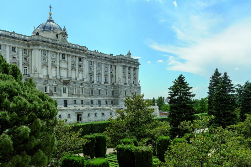 Palácio Real de Madrid & destaques de Madrid