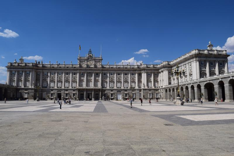 Palácio Real de Madrid: tour guiado