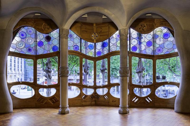 Gaudís hus: Casa Batlló & Casa Milà - Slipp køen