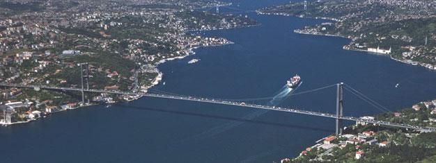 Biljetter till Bosporen Halvdags kryssning. Följ med på en oförglömlig båttur i Bosporen sundet och upplev Istanbuls fascinerande historia Köp biljetter här!