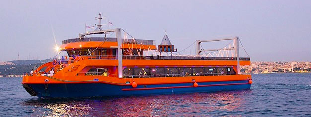 Enjoy a nice dinner cruise on the Bosphorus Strait and get entertained by amazing belly dancers, while the sun sets. Book your ticket here.