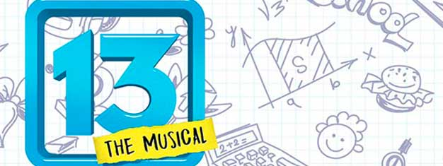 "13 The Musical in London is an hilarious, coming-of-age musical about discovering that ""cool"" is sometimes where we least expect it. Book tickets for 13 The Musical here!"