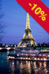 Eiffel Tower: Paris by night with cruise & sightseeing - 4 hours