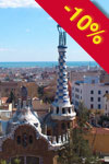Tour di ParkGüell di Gaudí