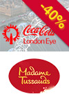 Tickets to Combinado Londres 2 em 1