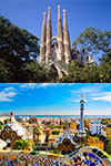 Tickets to Sagrada Familia & Park Güell Tour with Transport
