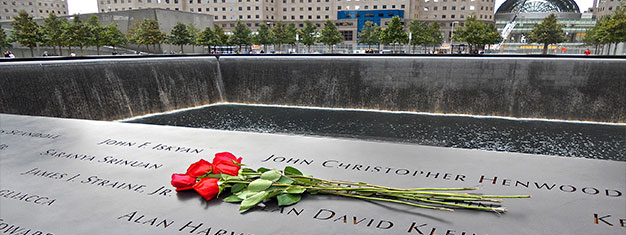 Join us for a beautiful tour to the well-known, and lesser known, memorials for the attack against World Trade Center 9/11-2001. Book your tour online!