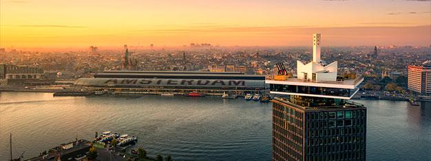 Salta las filas al A'DAM LOOKOUT! Disfruta vistas de 360º sobre Amsterdam y prueba el columpio más alto de Europa! Reserva entradas aquí!