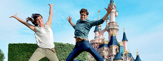 See fairytales come to life at Disneyland Paris and explore the cool movie sets at Walt Disney Studios Park. Buy your tickets online and skip the lines!