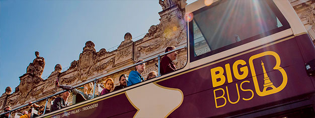 Choose your Hop-on, Hop-off Big Bus Tour of Paris and enjoy exploring this magnificent city at your own pace.  Deluxe tickets include a delightful cruise on the Seine.  Book tickets online today!