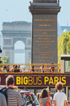 Excursion en bus hop-on hop-off Paris (Big Bus)