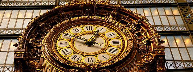 Compra tus entradas al Museo d'Orsay en línea y salta las filas!  Explora el precioso museo en París. Entrada gratis a menores de 18 años!