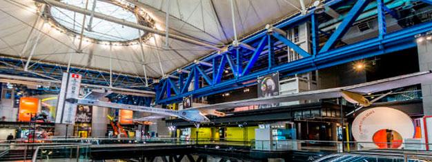 Bezoek het Wetenschap Museum van Parijs, Cité des Sciences et de l'Industrie.  Koop tickets online en vermijd de wachtrij!