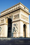 Arc de Triomphe - billet coupe-file