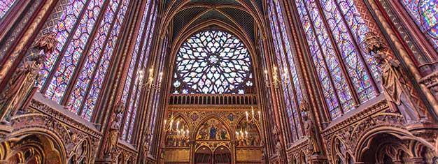 Visit this historic monument, Sainte Chapelle, an architectural gem from the Gothic period. Buy your tickets online and skip the line to the chapel!