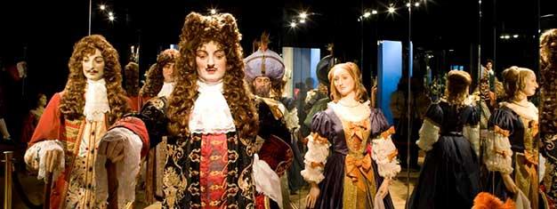 Utforsk voksmuseet Grévin i Paris! Museet viser frem ikke færre enn300 voks-karakterer. Moro for hele familien! Kjøp dine billetter på nett!
