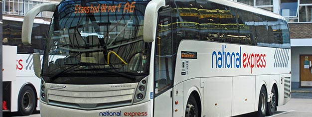 Autobús National Express Stansted