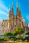Tickets to Sagrada Familia - billets coupe-files