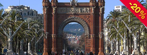 Upplev Barcelonas Höjdpunkter! Ta linbanan till berget Montjuïc, se Gaudis Casa Batlló och La Pedrera och mycket mer! Boka din sightseeingtur hemifrån!