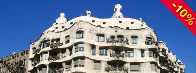 Se de store værker af Gaudi og Pablo Picasso i Barcelona. Billetter til turen; Barcelonas Kunst og Arkitektur, kan købes her!