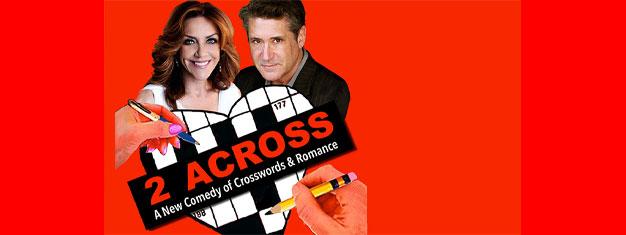 Se forestillingen 2 Across, en ny komedie om krydsord, romatik og to fremmede i et tog på Broadway, New York! Bestil dine billetter i forvejen!