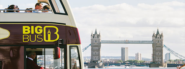 Save money and book 1, 2 or 3 Day tickets online for the Hop-on, Hop-off Big Bus tours with walking tour and river cruise and explore London at your own pace.