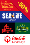 4 Attractions Combination Ticket