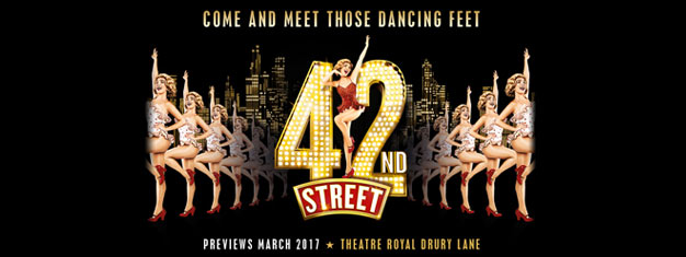 Experience the musical hit 42nd Street on the West End's biggest stage! It's the song and dance, American dream fable of Broadway. Book your tickets here!