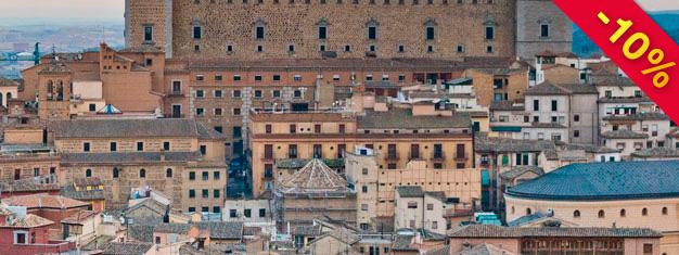 Enquanto estiver em Madrid, por que não visitar a bela cidade de Toledo que fica a apenas 70km de Madrid. Bilhetes para a Visita de Meio Dia a Toledo podem ser reservados aqui!