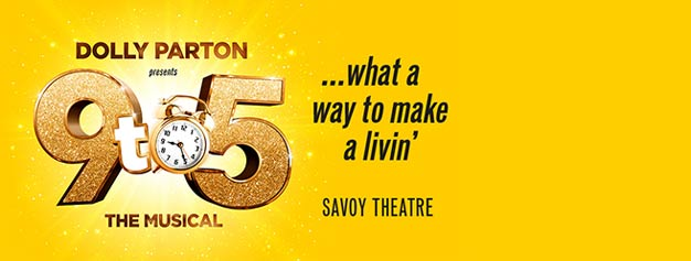 Dolly Parton's acclaimed 9 to 5 the Musical is just playing for a limited period in London in 2019. So hurry up and get your hands on the popular tickets!