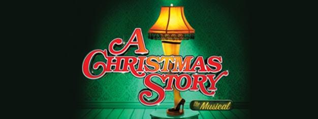 A Christmas Story en Broadway en Nueva York es un divertido musical de temporada. Entradas aquí para A Christmas Stry en Nueva York!