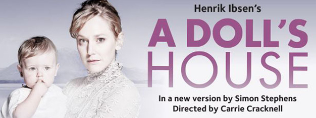 Following two sell out runs at the Young Vic in London, Henrik Ibsen's timeless masterpiece A Doll's House transfers to the Duke of York's Theatre. Book tickets here!