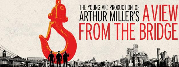 """A View from the Bridge, anova interpretação de Arthur MIller chega à Broadway em NYC - nomeado """"A Escolha Teatral do Ano""""! Reserve online agora!"""