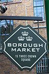 Borough Market & gin-destilleri till fots