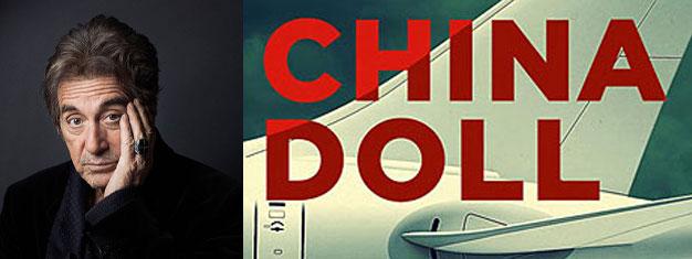 Se Al Pacino i China Doll, på Broadway i New York, en ny pjäs om stora pengar, snabba flygplan, en vacker ung kvinna, lust och passion. Biljetter online!