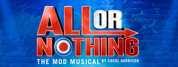 1965. A new phenomenon erupted out of London's East End. It was the essence of all that was cool. It was Mod.  Tickets for All Or Nothing– The Mod Musical in London here!
