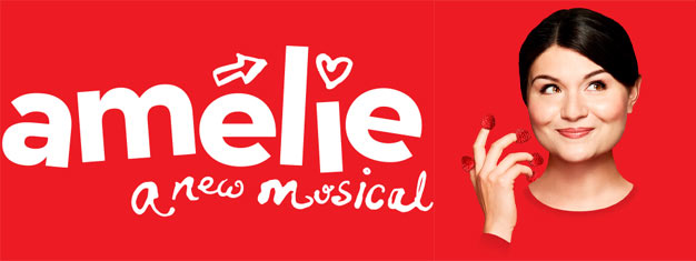Amelie, A New Musical on Broadway in New york is based on the fantastic French film from 2001. Book your tickets for Amelie, A New Musical in New york here!