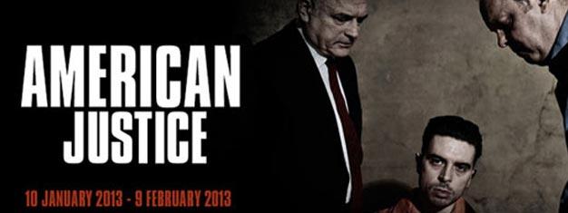 American Justice i London er et drama om skyld og tilgivelse indenfor det amerikanske fængselssystem. Billetter til American Justice i London kan købes her!