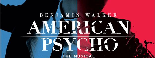 Oplev musicalen American Psycho live på Broadway! Baseret på den bedst sælgende roman af Bret Easton Ellis. Bestil dine billetter online!