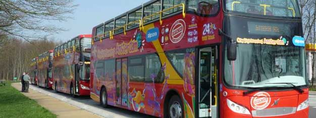 Amsterdam City Sightseeing Hop-On Hop-Off buses is an easy and personal way to see all of Amsterdam. Book your tickets for Amsterdam City Sightseeing here!