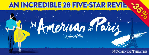 Enjoy An American In Paris, an award-winning, thrillingly staged and astonishingly danced musical featuring great music by George & Ira Gershwin. Book online!