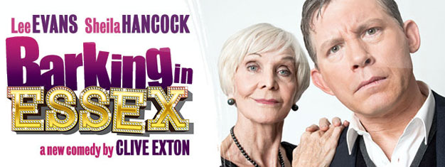 Barking in Essex in London, opening in September 2013, will be very, very funny, starring Lee Evans and Sheila Hancock. Tickets for Barking in Essex in London Here!