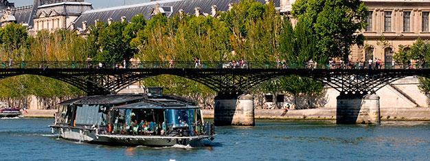 Nauti ranskalaisen keittiön makuja lounaalla Seinellä. Lippuja Seinen lounasristeilylle Pariisissa saa ostettua täältä!