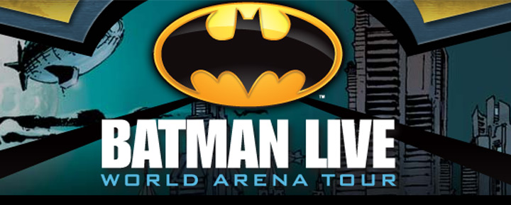 See Batman Live in London, the popular Super Hero as you've never seen him before, in an all-new, live-action arena adventure! Buy Tickets for Batman here!