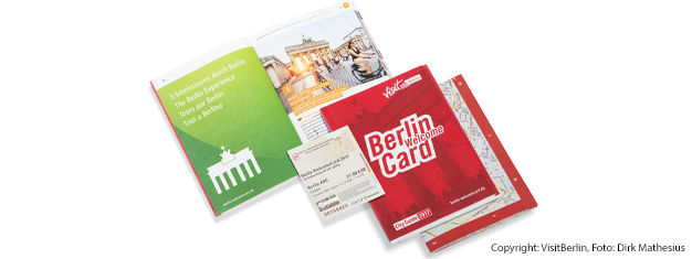 Explore Berlin with the Berlin WelcomeCard! Free public transportation and great discounts at over 200 museums, restaurants and more. Get yours here!